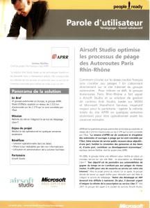 Entretien APRR-Microsoft 1/2
